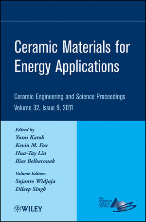 Ceramic Materials for Energy Applications, Volume 32, Issue 9