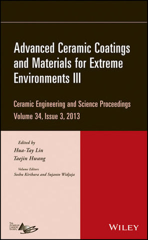 Advanced Ceramic Coatings and Materials for Extreme Environments III, Volume 34, Issue 3