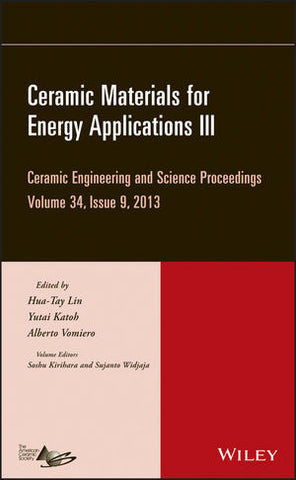 Ceramic Materials for Energy Applications III, Volume 34, Issue 9