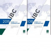 2015 International Building Code: Code & Commentary Set
