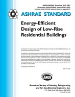 ASHRAE Standard 90.2-2007: Energy-Efficient Design of Low-Rise Residential Buildings
