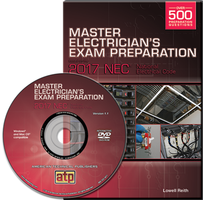 Master Electrician's Exam Preparation DVD Based on the 2017 NEC®