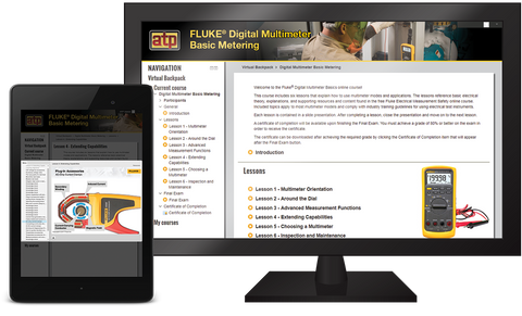 Fluke® Digital Multimeter Basic Metering Online Course