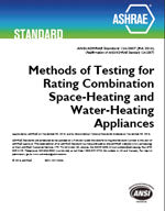 ASHRAE Standard 124-2007: Methods of Testing for Rating Combination Space-Heating and Water-Heating Appliances