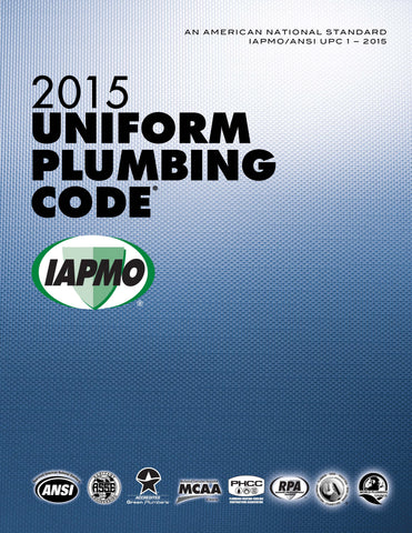 2015 Uniform Plumbing Code Loose-Leaf w/Tabs