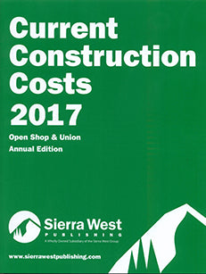 2017 Current Construction Costs