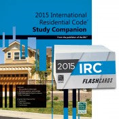 2015 International Residential Code Study Companion and Flash Card Combo