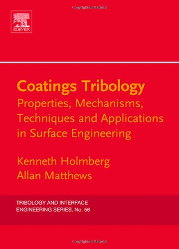 Coatings Tribology: Properties, Mechanisms, Techniques and Applications in Surface Engineering