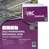2012 International Mechanical Code Study Companion and Flash Card Combo