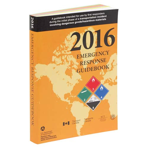 2016 Emergency Response Guidebook (ERG) 4 X 51/2 POCKET SIZE