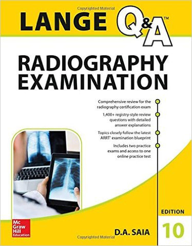 Lange Q&A Radiography Book Tenth Edition
