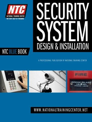 NTC Blue Book Low Voltage Systems Design & Installation