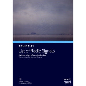 NP283(2): Admiralty List of Radio Signals: Maritime Safety Information Services (The Americas, Far East & Oceania)