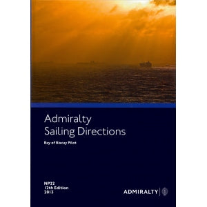 Admiralty Sailing Directions NP 22 Bay Of Biscay Pilot