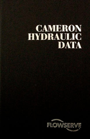 Cameron Hydraulic Data Book