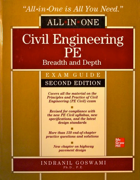 All-In-One Civil Engineering PE Breadth and Depth Exam Guide