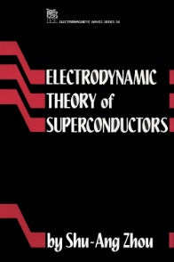 Electrodynamic Theory of Superconductors