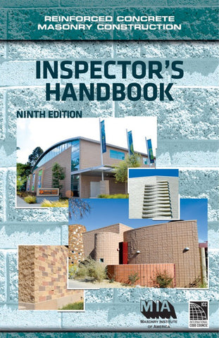 Reinforced Concrete Masonry Construction Inspector's Handbook, Ninth Edition