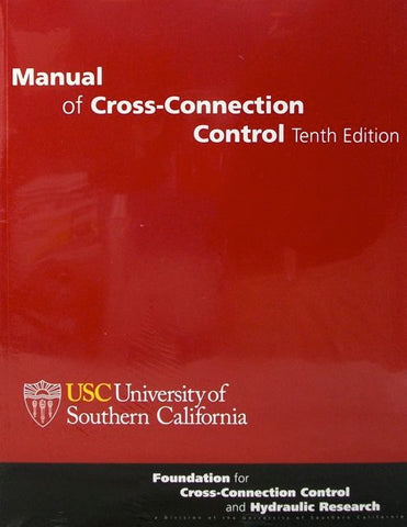 Manual of Cross-Connection Control