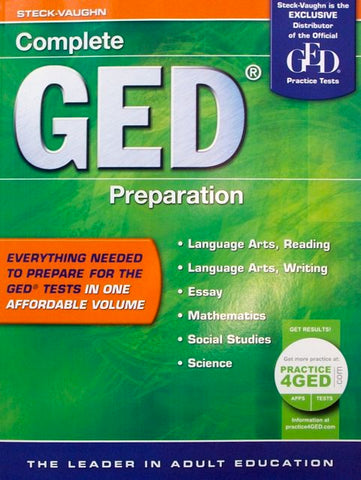 GED All-In-One Study Guide