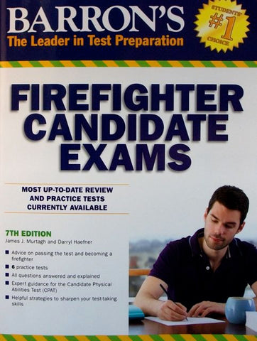 Barron's Firefighter Candidate Exams, 7th Edition