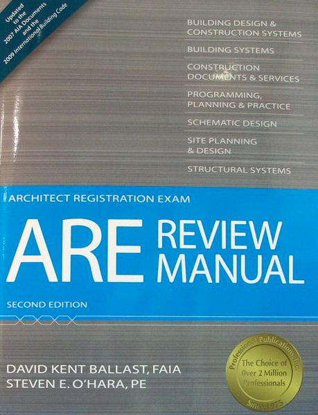 ARE (Architect Registration Exam) Review Manual