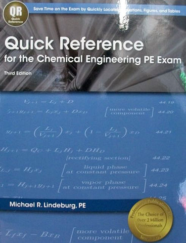 Quick Reference for the Chemical Engineering PE Exam
