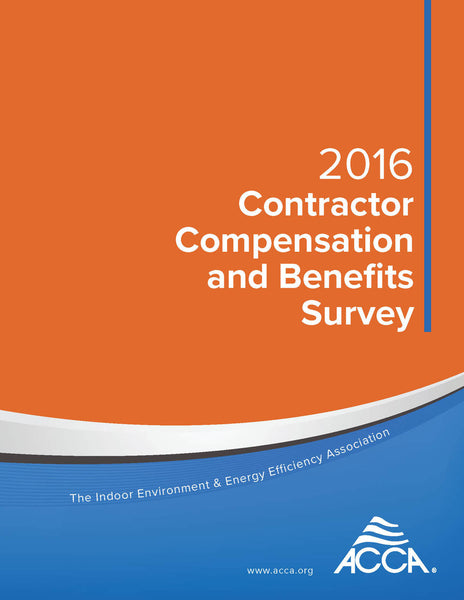 2016 Contractor Compensation and Benefits Survey