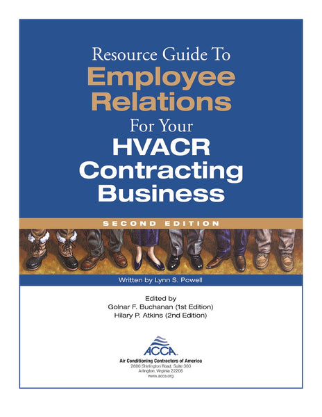 ACCA Resource Guide to Employee Relations