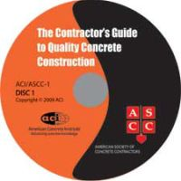The Contractor's Guide to Quality Concrete Construction - Third Edition Audio CD with Booklet