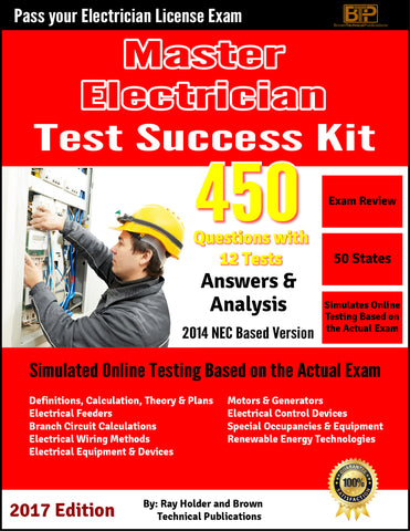 ONLINE 2014 MASTERS ELECTRICIAN STUDY PREP COURSE