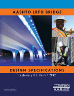 AASHTO LRFD Bridge Design Specifications, Customary U.S. Units, 6th Edition, Single User PDF Download, with 2013 Interim Revisions