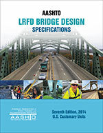 AASHTO LRFD Bridge Design Specifications, Customary U.S. Units, 7th Edition, with 2015 and 2016 Interim Revisions, Single User PDF Download