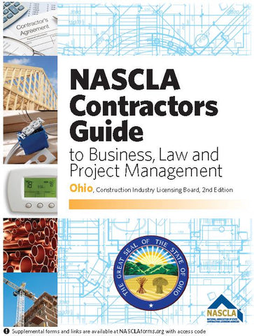 OHIO-NASCLA CONTRACTORS GUIDE TO BUSINESS, LAW AND PROJECT MANAGEMENT, OH 2ND EDITION