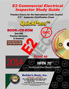 E2 Commercial Electrical Inspector QuickPass Study Guide Based on 2014 NEC