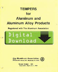 1985 - YELLOW SHEETS Tempers for Aluminum OL