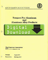 2005-YELLOW SHEETS Tempers for Aluminum OL