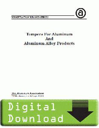 2005 - YELLOW SHEETS Tempers for Aluminum OL
