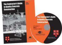 The Contractor's Guide to Quality Concrete Construction - Third Edition - Book and Audio CD