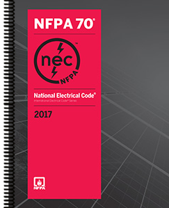 2017 National Electrical Code NEC Spiral