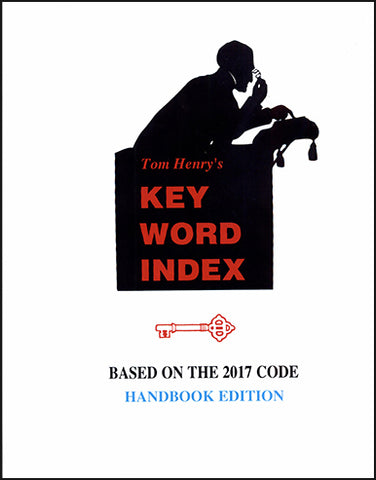 2017 Key Word Index HANDBOOK EDITION by Tom Henry