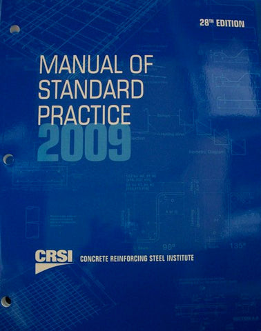 Manual Of Standard Practice 2009 28th Edition