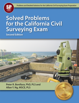CSSP2 Solved Problems for the California Surveying Exam