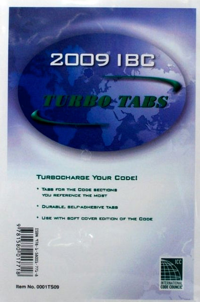 2009 IBC Turbo Tabs (stickers)