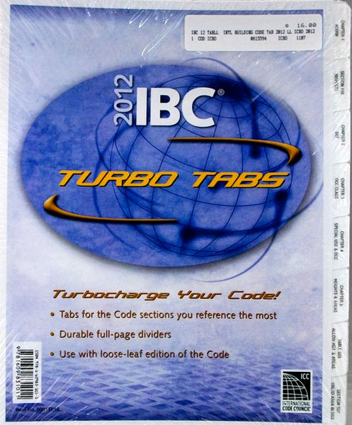 2012 IBC Turbo Tabs (full-page dividers)