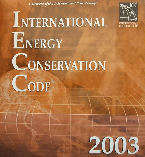 International Energy Conservation Code 2003 Looseleaf