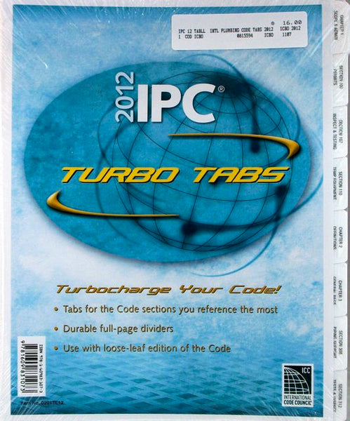 2012 IPC Turbo Tabs (full-page dividers)