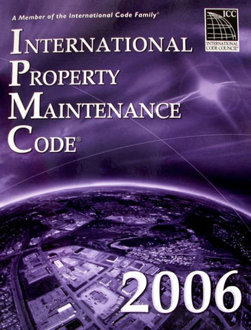 International Property Maintenance Code 2006 Paperback