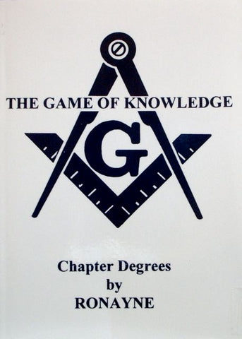 The Game of Knowledge: Chapter Degrees by Ronayne