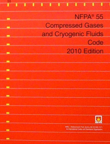 NFPA 55: Compressed Gases and Cryogenic Fluids Code